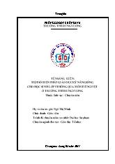 Bìa mẫu - SKKN Một số biện pháp giáo dục kỹ n