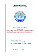 Bìa SKKN - Một số biện pháp giúp học sinh khắ